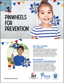 Pinwheels for Prevention Campaign Flyer