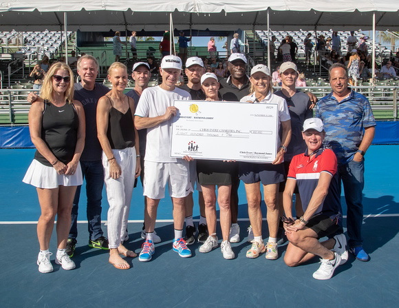 Chris Evert at the Raymond James Pro Celebrity Tennis Classic